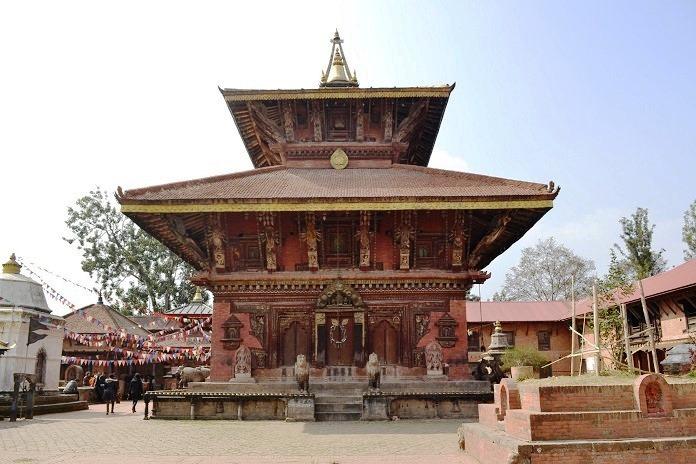 narayan mandir temple, kathmandu, nepal