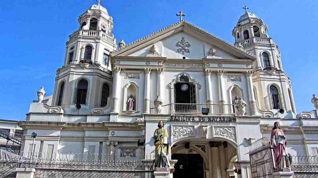 quiapo church, manila, ph