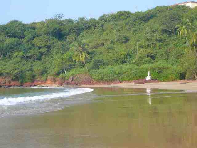 bogmalo beach, goa, india