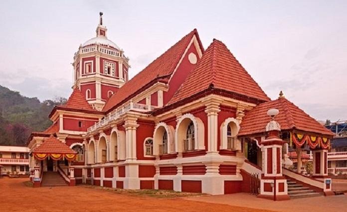 shantadurga temple, india, goa