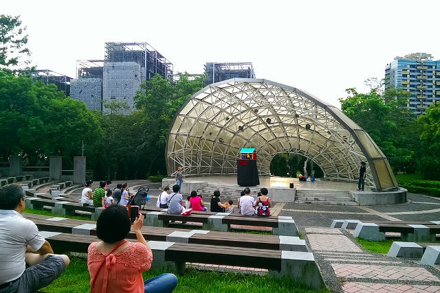 taipei, taiwan, daan park