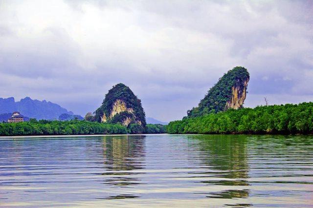 khao khanab nam, krabi, thailand