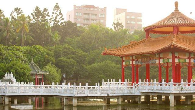 tainan park, taiwan