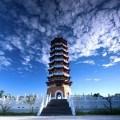 ci-en pagoda, sun and moon lake