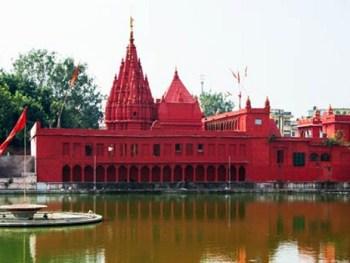 durga temple, varanasi, india