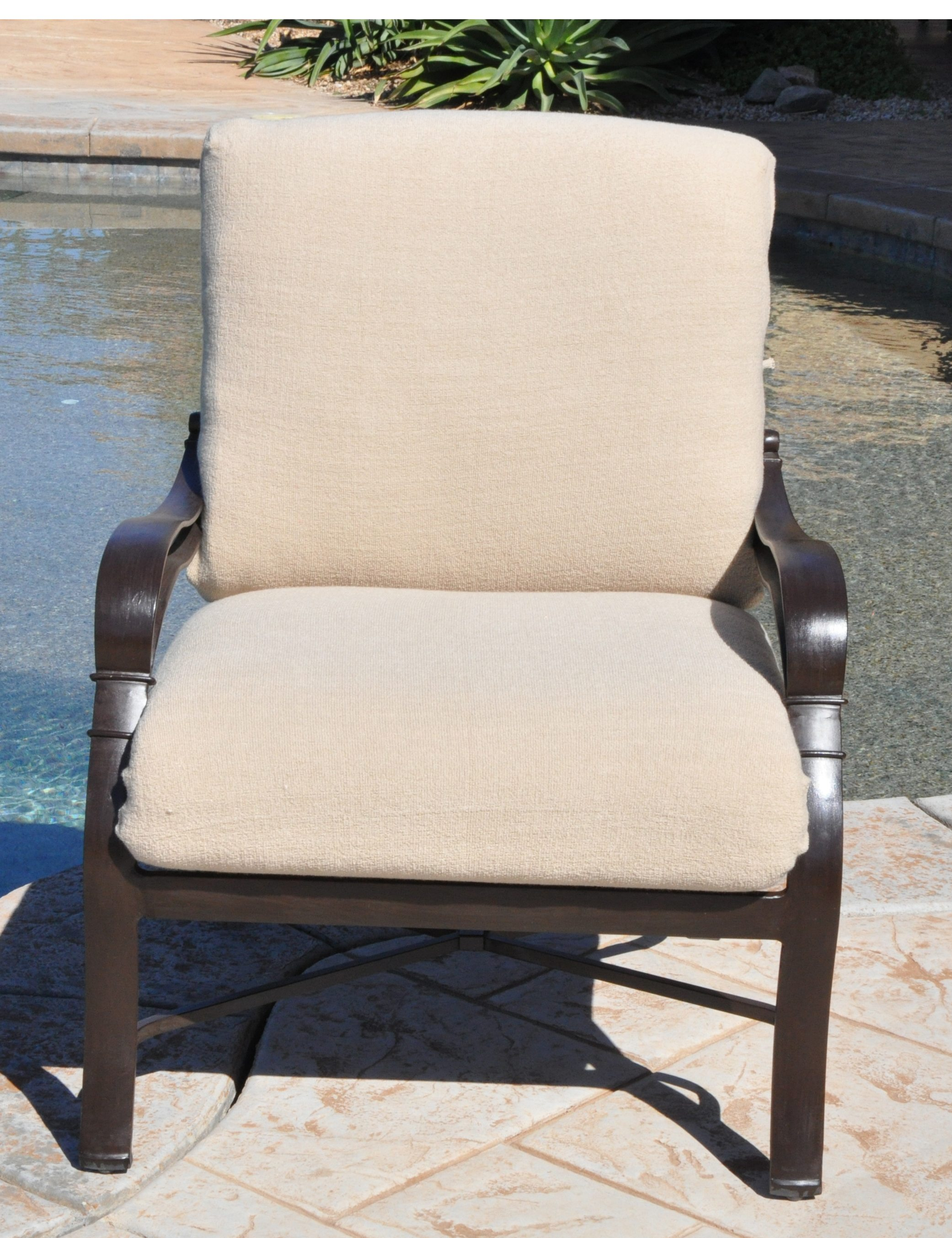 Outdoor Deep Seat Cushion Slipcovers (2 Piece) Cushychic