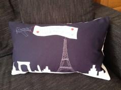 Paris Match - appliqué and hand embroidery