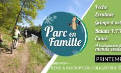 PARC EN FAMILLE : Des activités pour les vacances