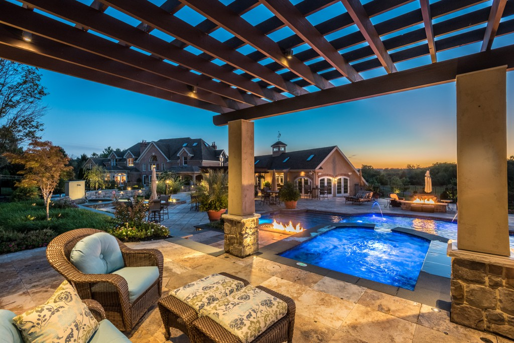 Outdoor Living Pools Patios and Sport Courts Custer Homes
