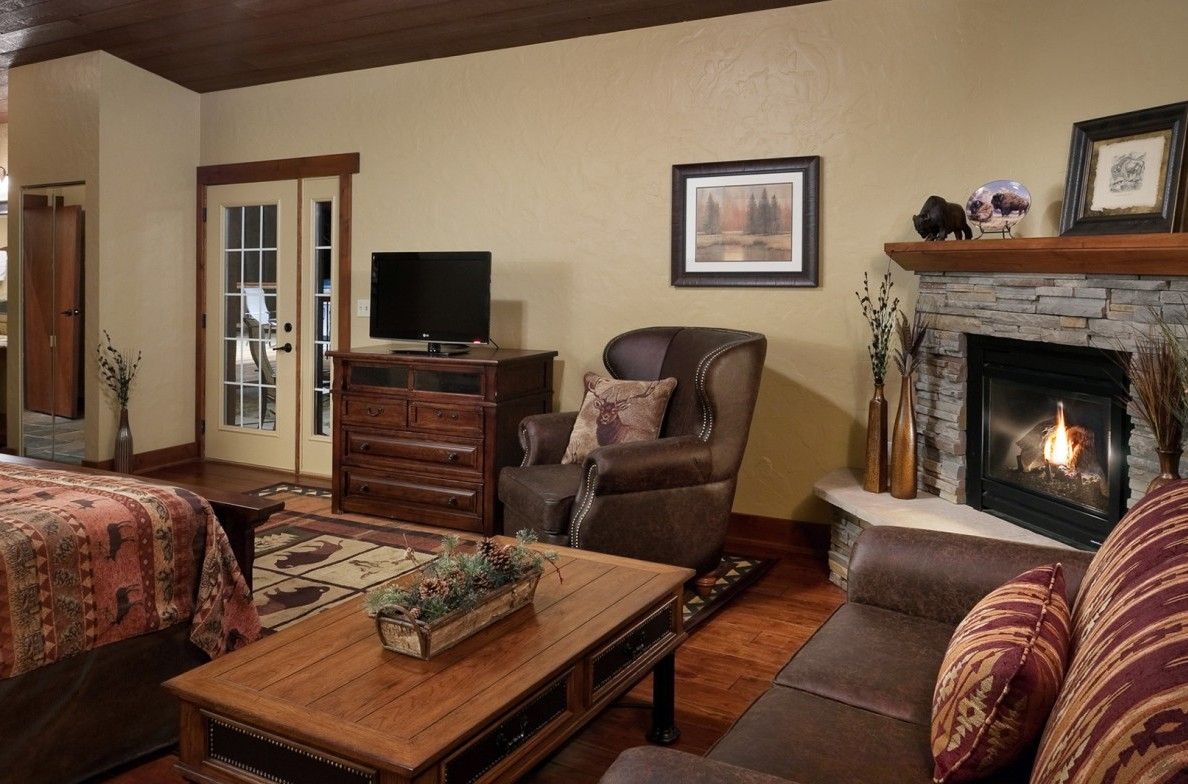 sofa sleeper for cabin slipcovers amazon india reunion specialty cabins lodges custer state park resort