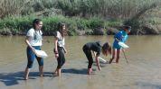 INS Esteve Terrades, riu Llobregat