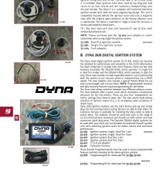 ultima ignition dyna 2000 dual fire 8 pin midwest 53 420 [ 1652 x 2338 Pixel ]