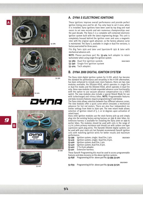 small resolution of ultima ignition dyna 2000 dual fire 8 pin midwest 53 420