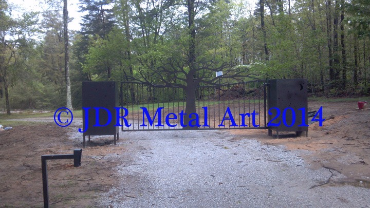Personalized Chattanooga Tennessee Driveway Gates