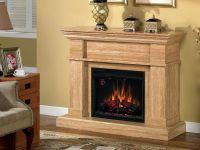 Three sided electric fireplace on Custom-Fireplace ...