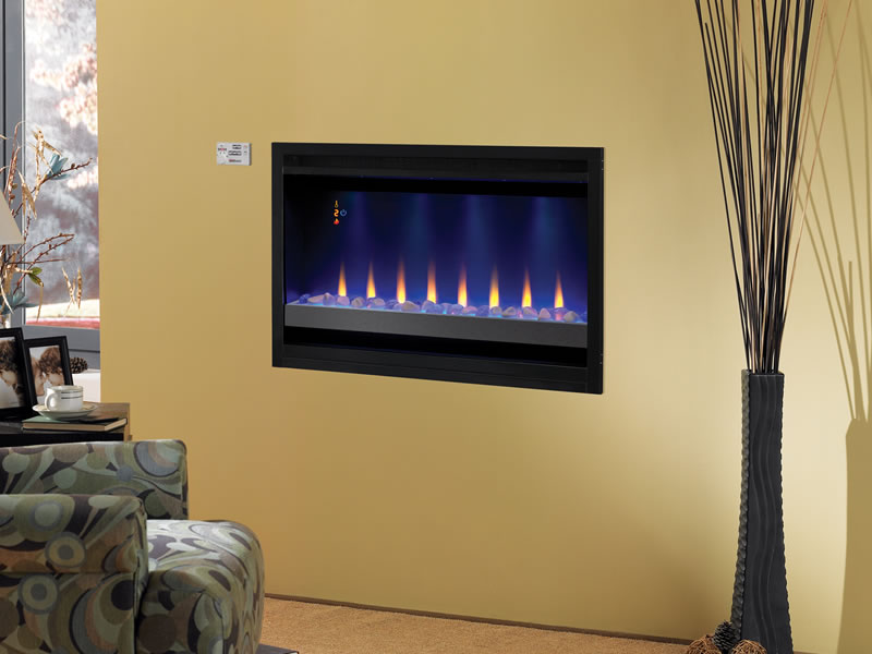Electric fireplace tv unit on CustomFireplace Quality electric gas and wood fireplaces and
