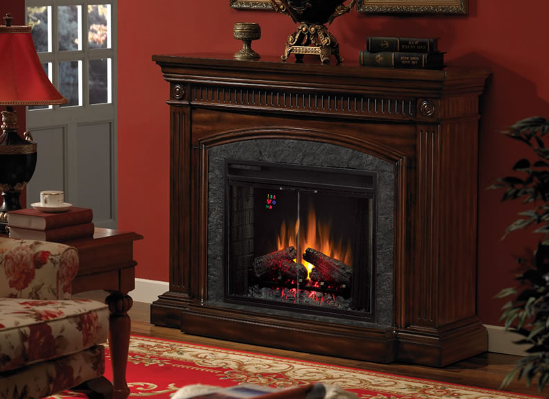 Sears electric fireplace on CustomFireplace Quality electric gas and wood fireplaces and stoves