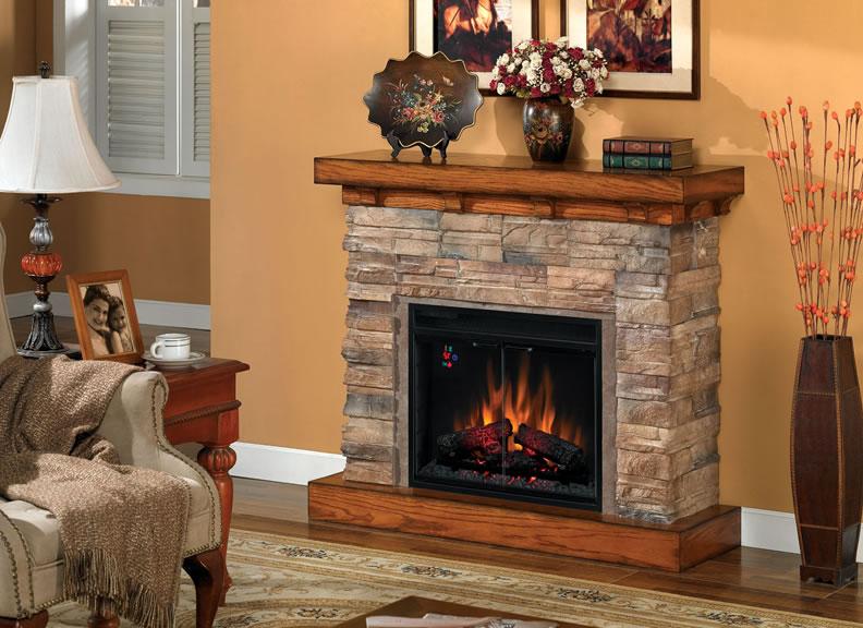 Charmglow electric fireplace on CustomFireplace Quality