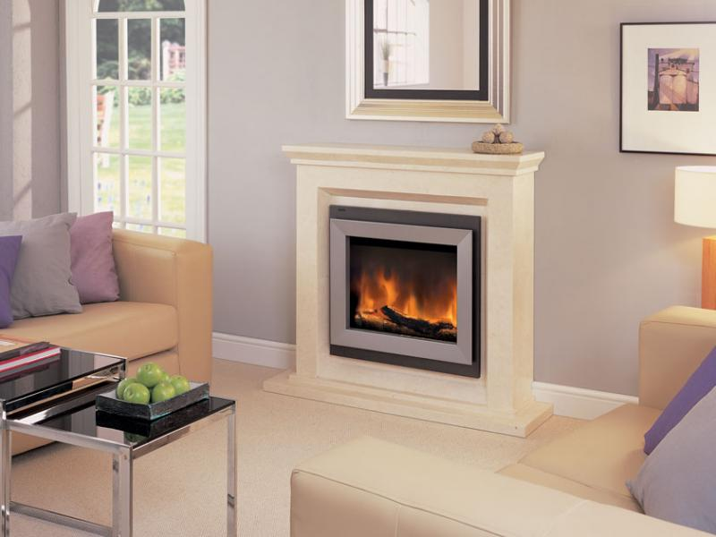 Symphony electric fireplace on CustomFireplace Quality electric gas and wood fireplaces and