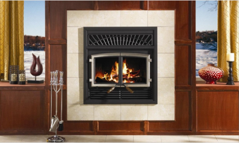 Ventless fireplace insert on CustomFireplace Quality electric gas and wood fireplaces and stoves