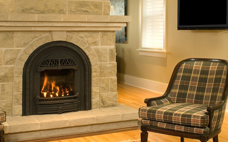 Appalachian fireplace insert on CustomFireplace Quality electric gas and wood fireplaces and