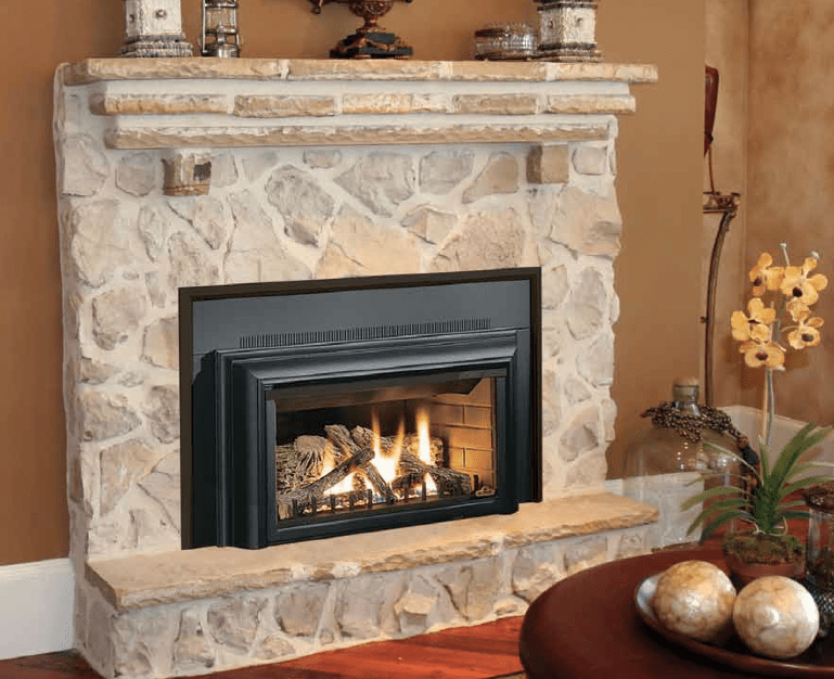 Refurbished electric fireplace insert on CustomFireplace Quality electric gas and wood