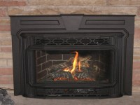 Small gas fireplace insert available on Custom-Fireplace ...