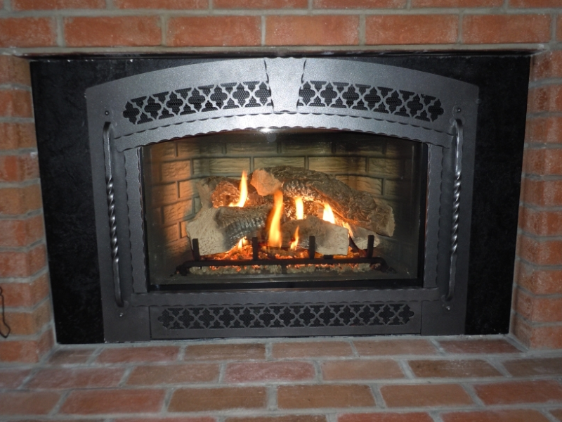 Osburn wood fireplace insert blower on CustomFireplace Quality electric gas and wood