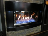 Gas fireplace insert for square fireplace on Custom ...