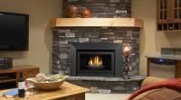 Antique ceramic fireplace insert on Custom-Fireplace ...