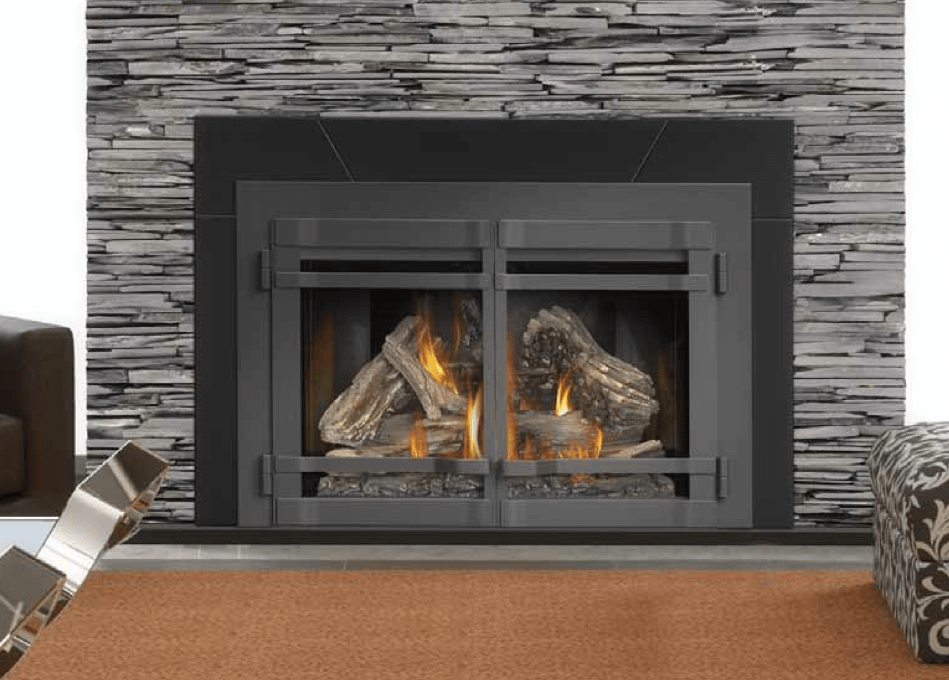Craft woodburning fireplace insert on CustomFireplace Quality electric gas and wood