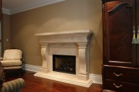 Gas fireplace mantel plans on Custom-Fireplace. Quality ...