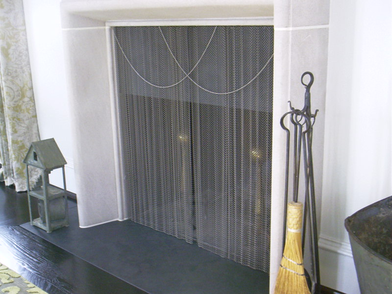 Elegant Fireplace Curtain Screen On Custom Fireplace Quality Electric