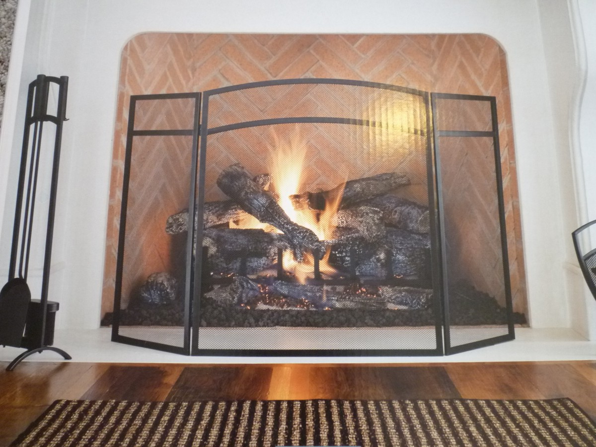 Construction of a stained glass fireplace screen on CustomFireplace Quality electric gas and