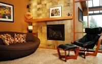 Masonry fireplace designs on Custom