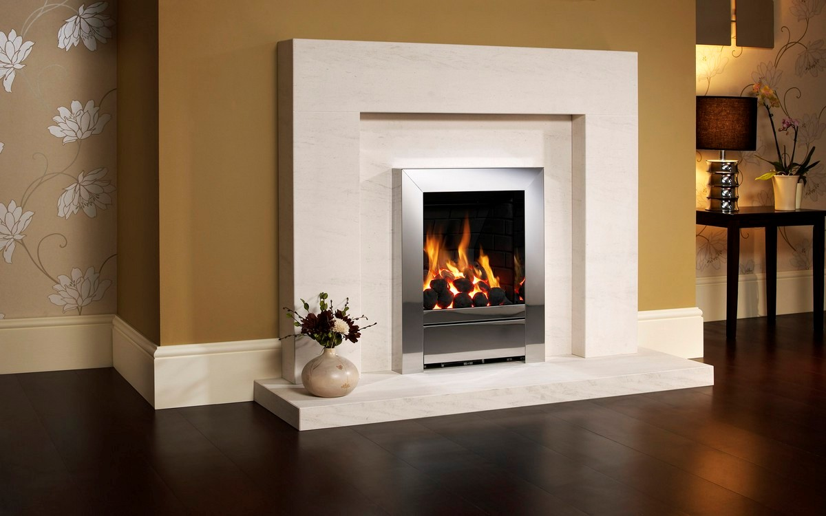 Gas fireplace logs on CustomFireplace Quality electric gas and wood fireplaces and stoves