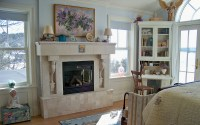 Fireplace construction on Custom