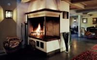 Faux fireplace on Custom