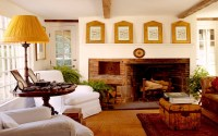 Brick fireplace on Custom
