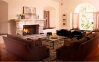 Electric fireplace on Custom