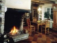 Wood burning fireplace on Custom