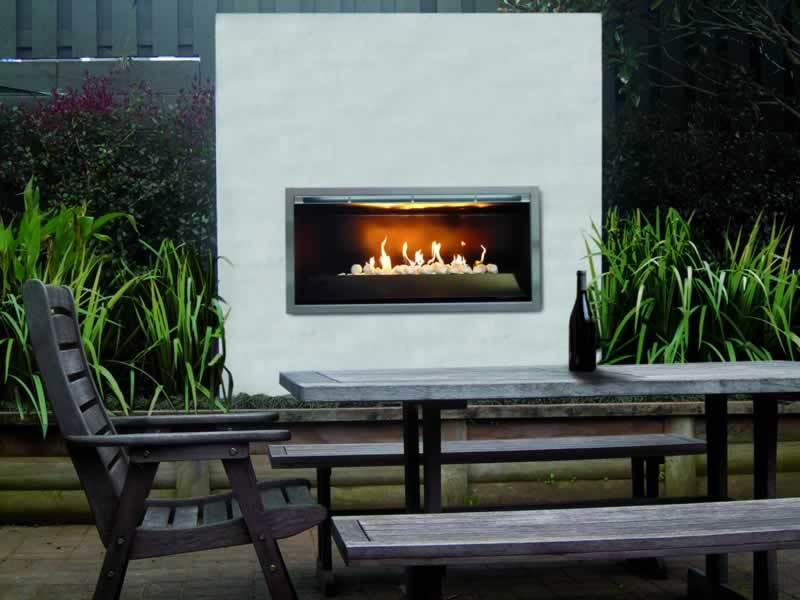 Ventless gas fireplace insert on CustomFireplace Quality electric gas and wood fireplaces and