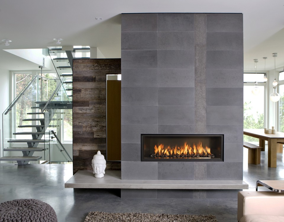 Outdoor natural gas fireplace on CustomFireplace Quality electric gas and wood fireplaces and