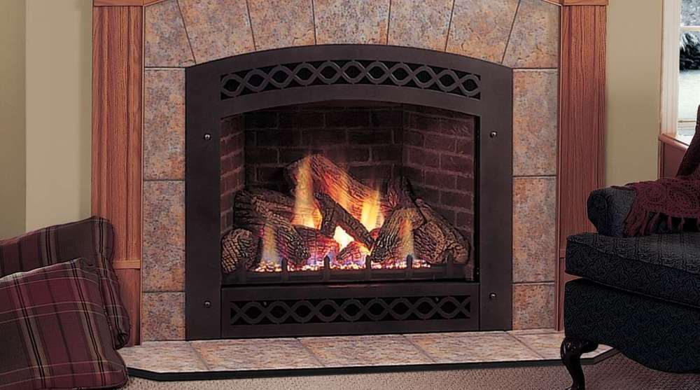 Ventless gas fireplace inserts on CustomFireplace Quality electric gas and wood fireplaces
