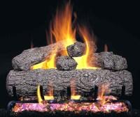 Gas log fireplace on Custom-Fireplace. Quality electric ...