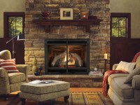 Ventless natural gas fireplace on Custom-Fireplace ...