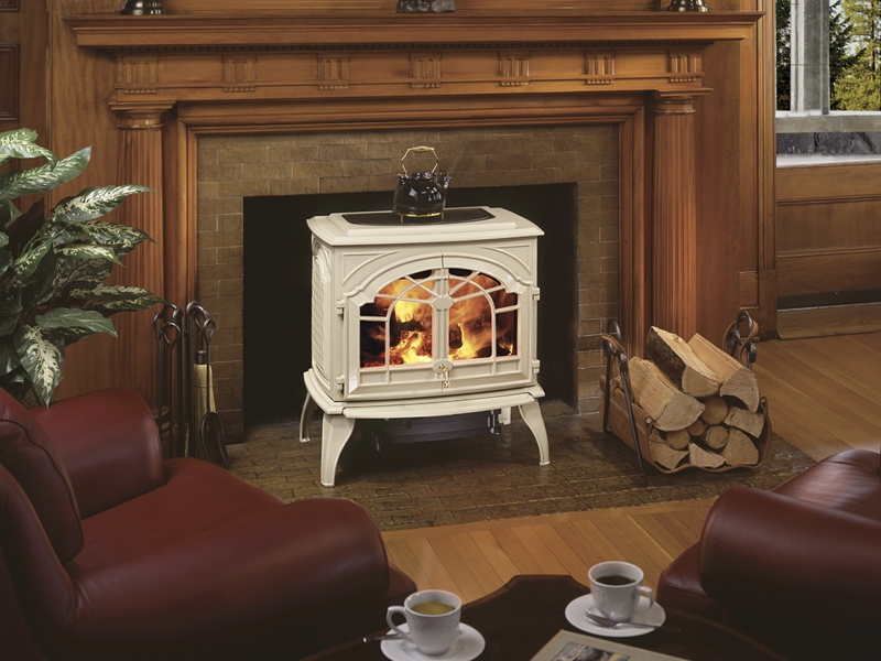 Outdoor wood burning stove on CustomFireplace Quality