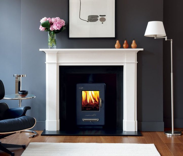 Wood stove installation on CustomFireplace Quality electric gas and wood fireplaces and stoves