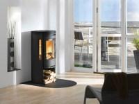 Mini wood stove on Custom-Fireplace. Quality electric, gas ...