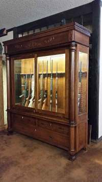 Custom Built In Gun Cabinet Design Ideas Pictures ...